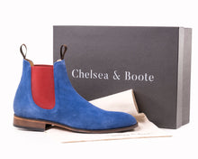 Load image into Gallery viewer, The Unique - Blue Chelsea Boot