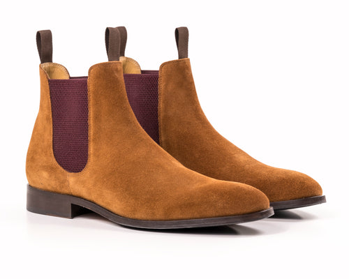 The Classic - Tan Chelsea Boot