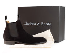 Load image into Gallery viewer, The Eclipse - Pure Black Chelsea Boot