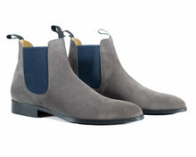 Load image into Gallery viewer, Lavagna - Dark Grey Chelsea Boot