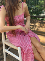 Alexa Gingham Dress-1-2