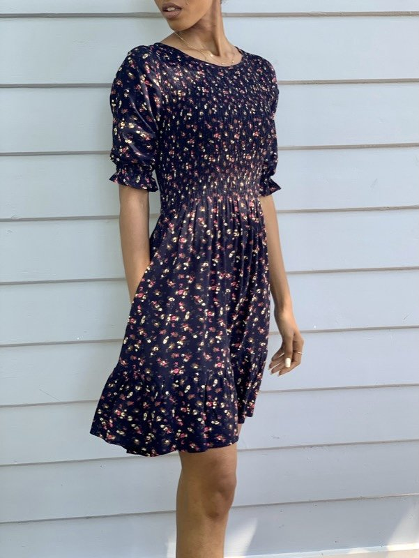 Darley Vintage Inspired Floral Dress-01