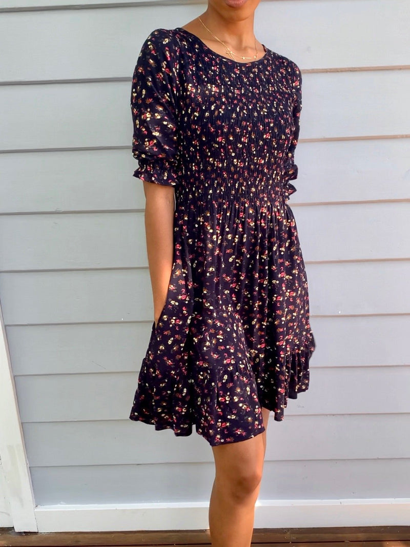 Darley Vintage Inspired Floral Dress-08