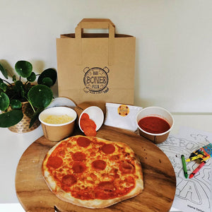 Pepperoni Pizza Kit for 4 - £5 per Pizza - Bare Bones Pizza