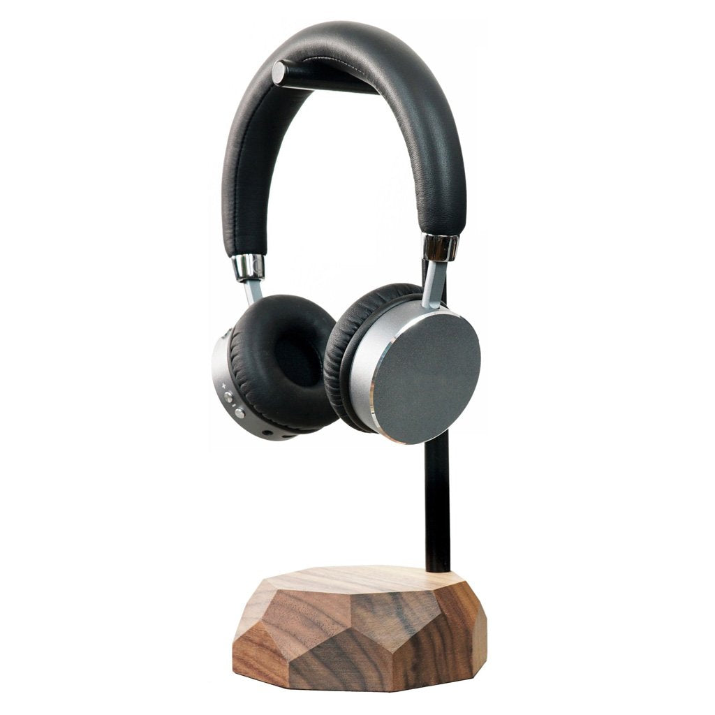 wooden modern headphones stand Wooden headphones stand |--variant--| Walnut
