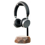 Laden Sie das Bild in den Galerie-Viewer, wooden modern headphones stand Wooden headphones stand |--variant--| Walnut
