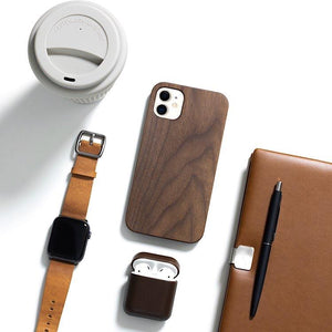 wooden iPhone 11 case