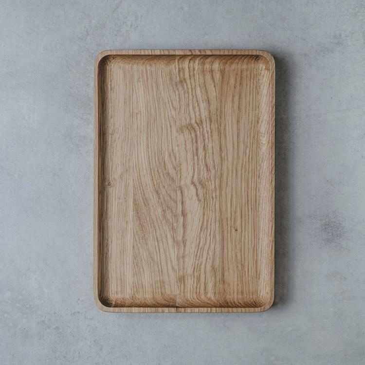 Wooden Catchall Tray  |--variant--|  Oak