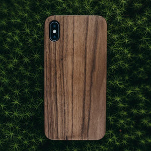iPhone Xs max wooden phone case