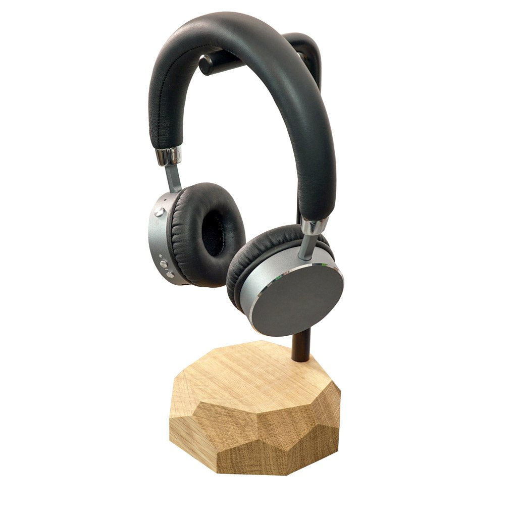 Wooden headphones stand |--variant--| Oak
