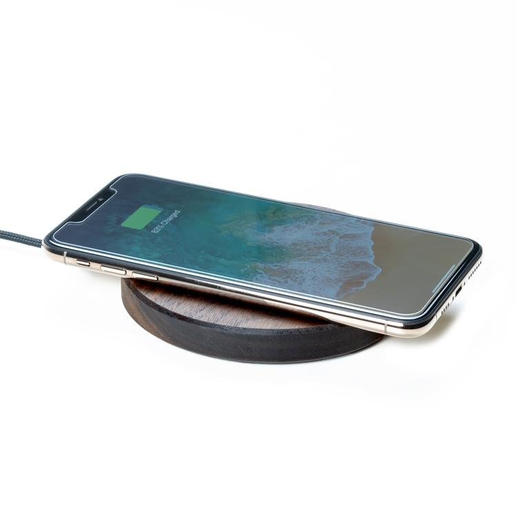 iphone slim wireless charging pad |--variant--|  Walnut