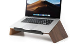 Laden Sie das Bild in den Galerie-Viewer, wooden laptop stand woodcessories