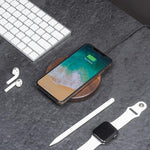 Laden Sie das Bild in den Galerie-Viewer, iphone x wireless charging pad |--variant--|  Walnut