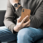 Laden Sie das Bild in den Galerie-Viewer, Wooden iPhone case