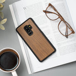 Laden Sie das Bild in den Galerie-Viewer, Slim Samsung Galaxy Etui - Walnut