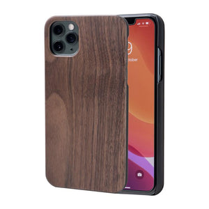 wooden iPhone 11 pro case