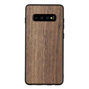 Slim Samsung Galaxy Etui - Walnut