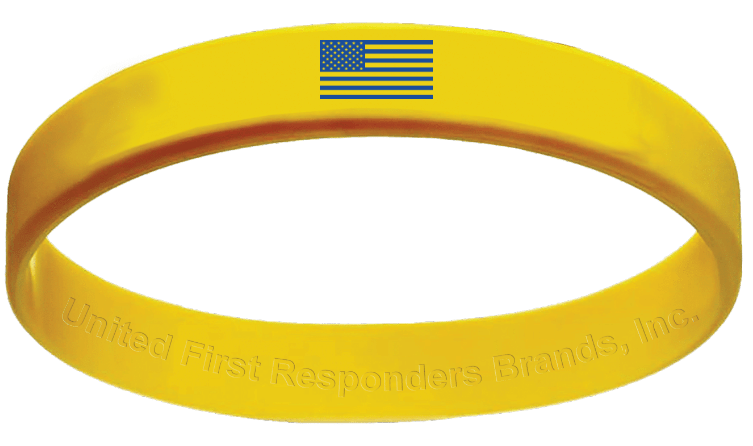 America Strong® Unity Wristband Challenge - United First Responders Brands
