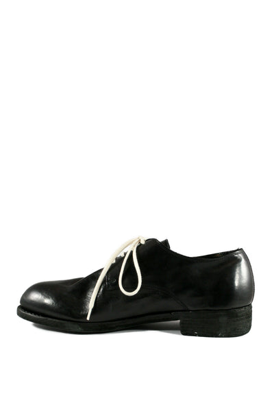 Black Vintage Ball Derbies 112