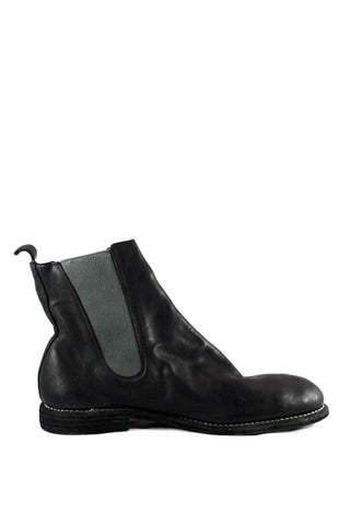 Black Chelsea Boots 96MS - GUIDI 1896