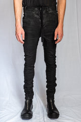 Boris Bidjan Saberi - Black Vinyl Coated Nickel Pressed Partial Hand stitched P14