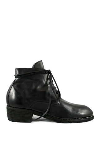 Black Lace Up Desert Boots 793 - GUIDI 1896