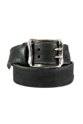 Oxidized Double Prong Wrap Buckle - Geoffrey Young