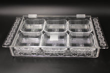 Load image into Gallery viewer, Deluxe Rectangle Acrylic Box with 6 Bowls