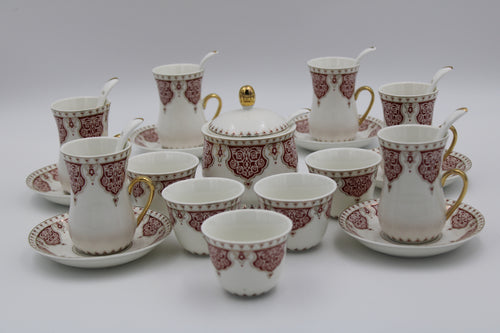 Cups & SAUCERS SET (27 Pcs)