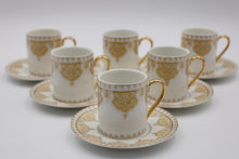 Load image into Gallery viewer, Cups & SAUCERS SET (6+6 PCs)