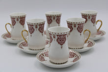 Load image into Gallery viewer, Cups & SAUCERS SET (12 Pcs)