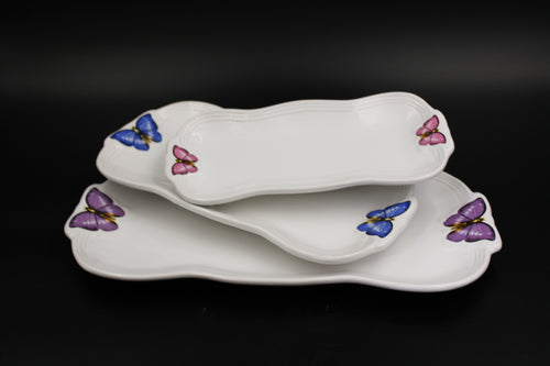 Ceramic 3 Pcs Plate Set