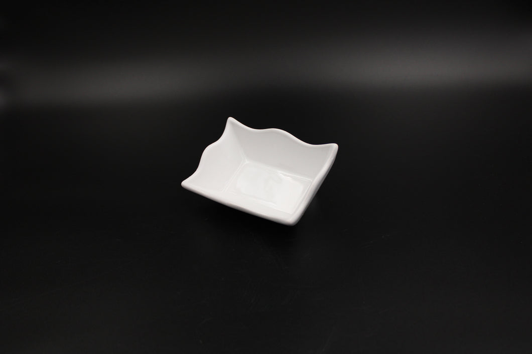 CERAMIC SNACK DISH
