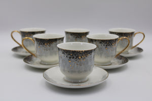 Coffee Cups (6+6 Pcs)