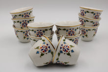 Load image into Gallery viewer, PORCELAIN CAWA CUP 12PCS SET