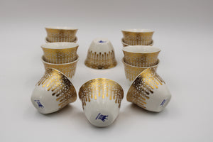 PORCELAIN CAWA CUP 12PCS SET