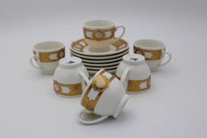 PORCELAIN COFFEE CUP (6+6 Pcs)