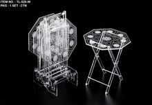 Load image into Gallery viewer, 5 Pcs Octagonal Acrylic Table Set