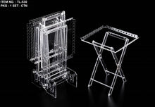 Load image into Gallery viewer, 5 Pcs Square Laser Acrylic Table Set