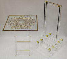 Load image into Gallery viewer, Deluxe Acrylic Table Set (4+1 Stand)