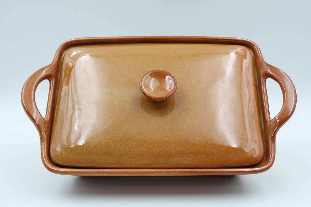 Rect. Casserole With Lid