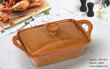 Load image into Gallery viewer, Rect. Casserole With Lid