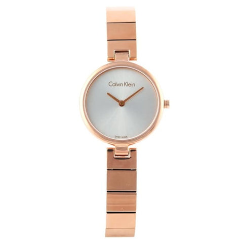 CalvinKlein Collection authentique mode montre pour femme à Quartz en or Rose K8G23646women watches