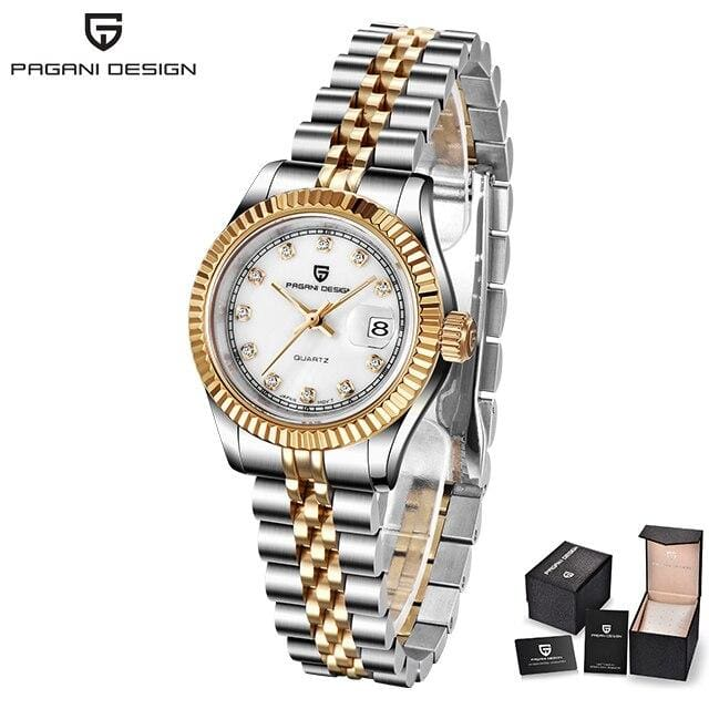 PAGANI DESIGN 2019 new Top brand women watches Fashion Ladise dress Quartz waterproof luxury watch Clock Relogio Feminino + box
