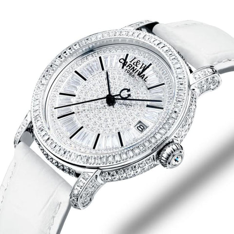 Switzerland Watches Carnival Luxury Brand Full Diamond Watch Women Japan MIYOTA Automatic Mechanical Sapphire Clock C86905-1