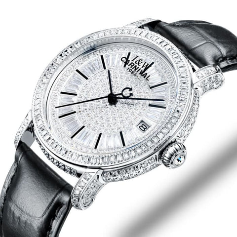 Switzerland Watches Carnival Luxury Brand Full Diamond Watch Women Japan MIYOTA Automatic Mechanical Sapphire Clock C86905-3