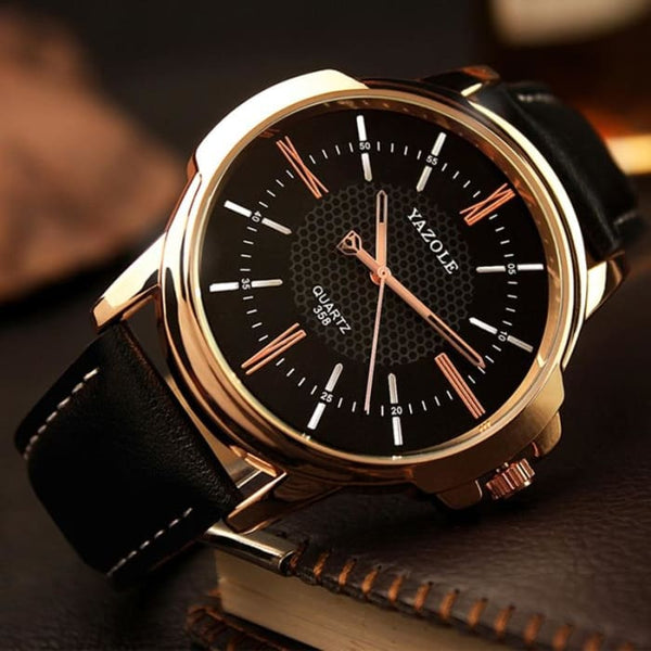 Yazole Brand Luxury Famous Men Watches Business Mens Watch Male Clock Fashion Quartz Watch Relogio Masculino reloj hombre 2019