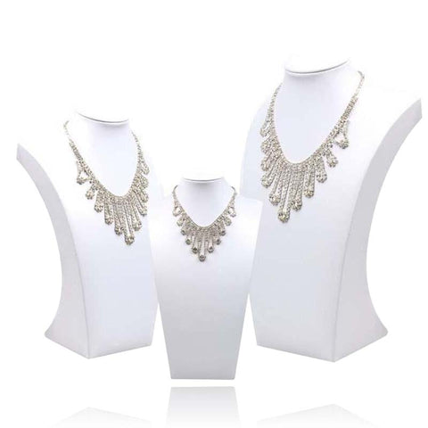 Buste Collier Blanc
