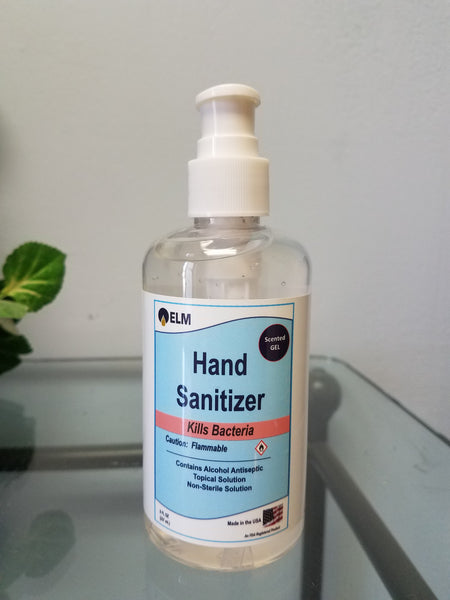 8 OZ Scented Gel Hand Sanitizer