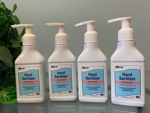 4 OZ Scented Gel Hand Sanitizer